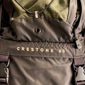 Northface Crestone 60 Unisex Backcountry Pack